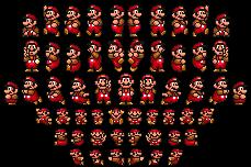 SMB1-SMAS Mario (NES Colors) by FanofSMBX