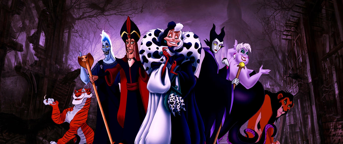 Disney Villains by Bhavan91