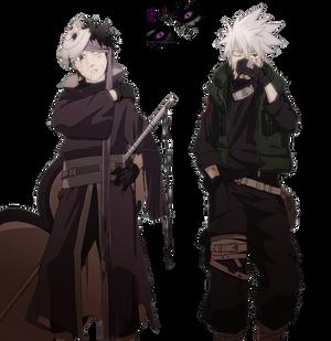 Obito and Kakashi Render