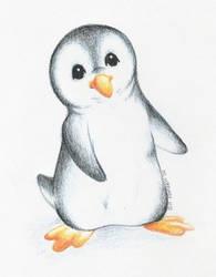 Little Penguin by teera-misu