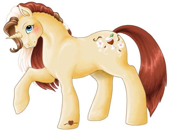 Amaretta the Pony by teera-misu