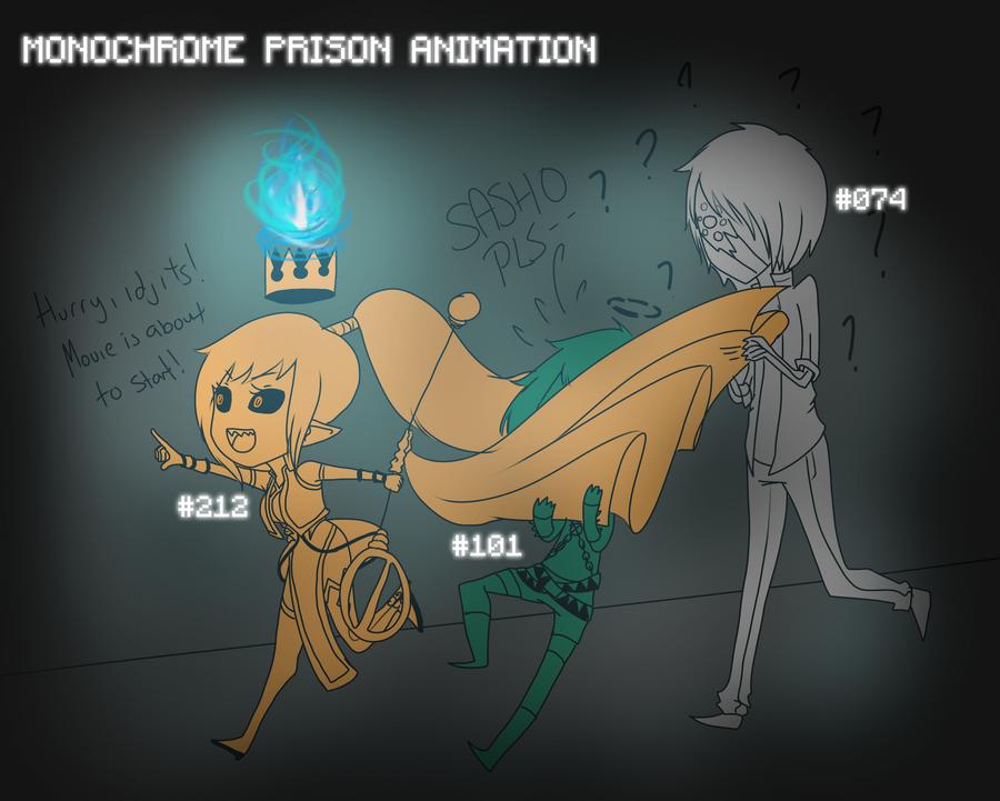 [ ZERO ] MONOCHROME PRISON ANIMATION by kouchella