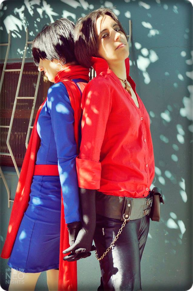 Ada Wong Carla Radames Resident Evil 6 Cosplay By Misswong98 On