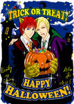 Ron, Draco's Halloween