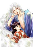 Lullaby of a demon_Rin-Sessho by alexzoe