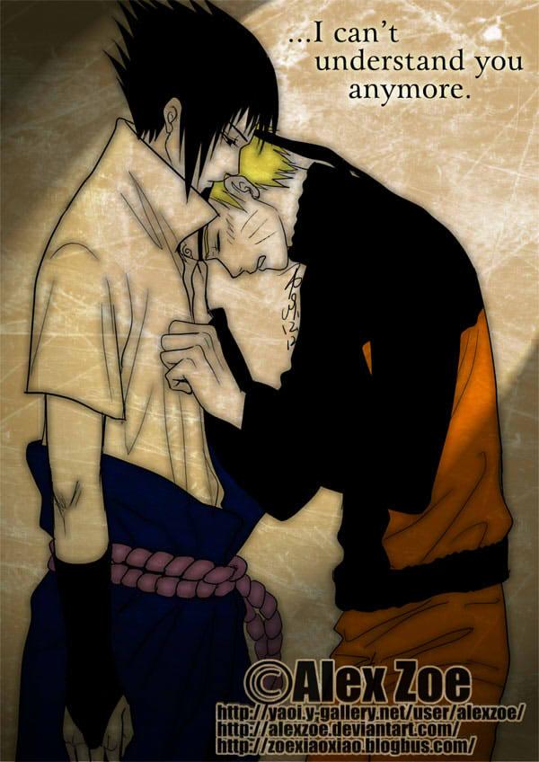 I cant understand you-NaruSasu