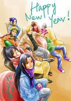 Happy New Year by alexzoe