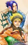 Happy New Year DETAIL-NaruSasu