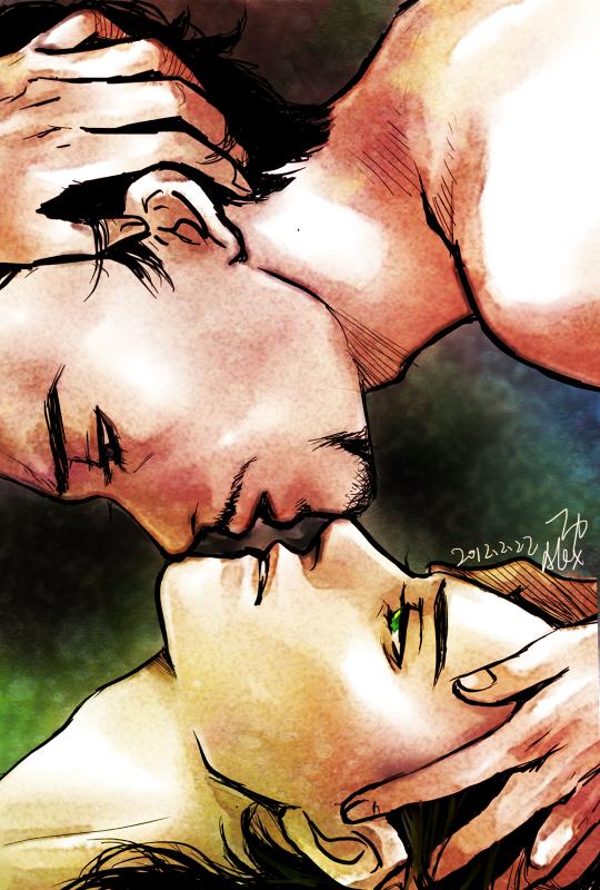 Unsure for a Kiss by alexzoe