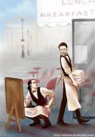 Tony Loki LE CAFE by alexzoe