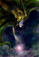 Loki- AND HE FELL by alexzoe
