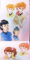 Reboot Star Trek bridge crew Gender Swap