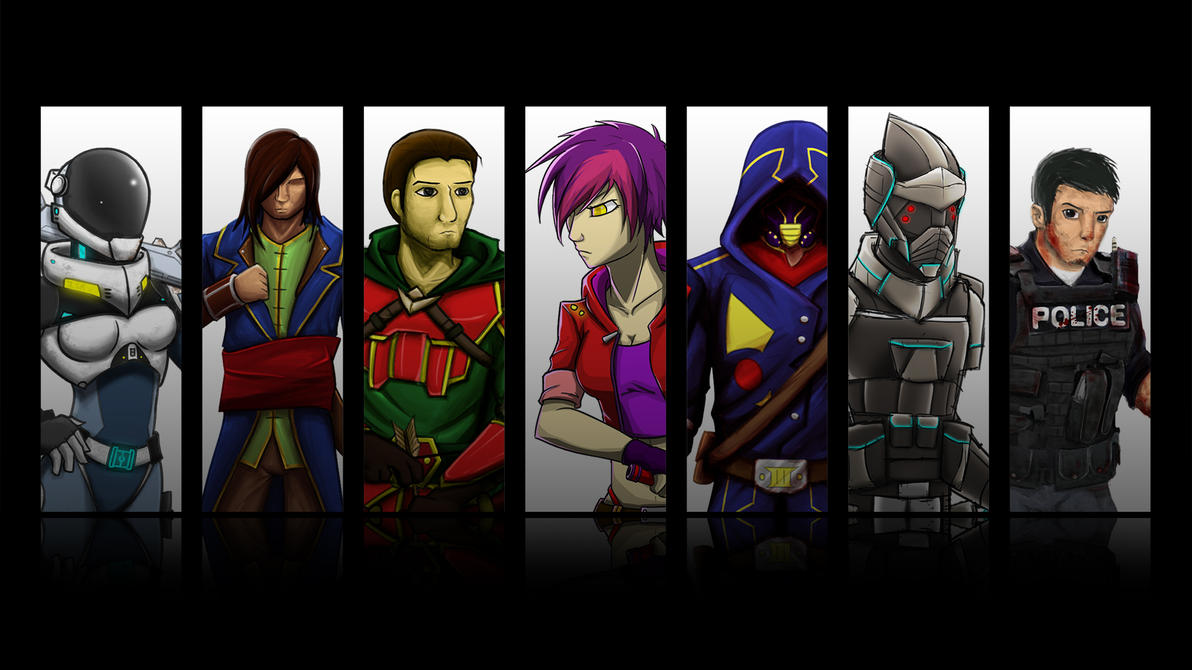 Character List Thingy by KillerfishSG