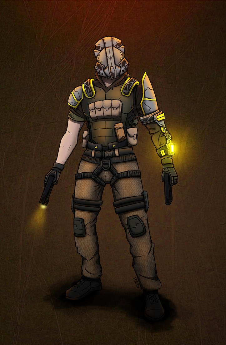 Soldier by KillerfishSG