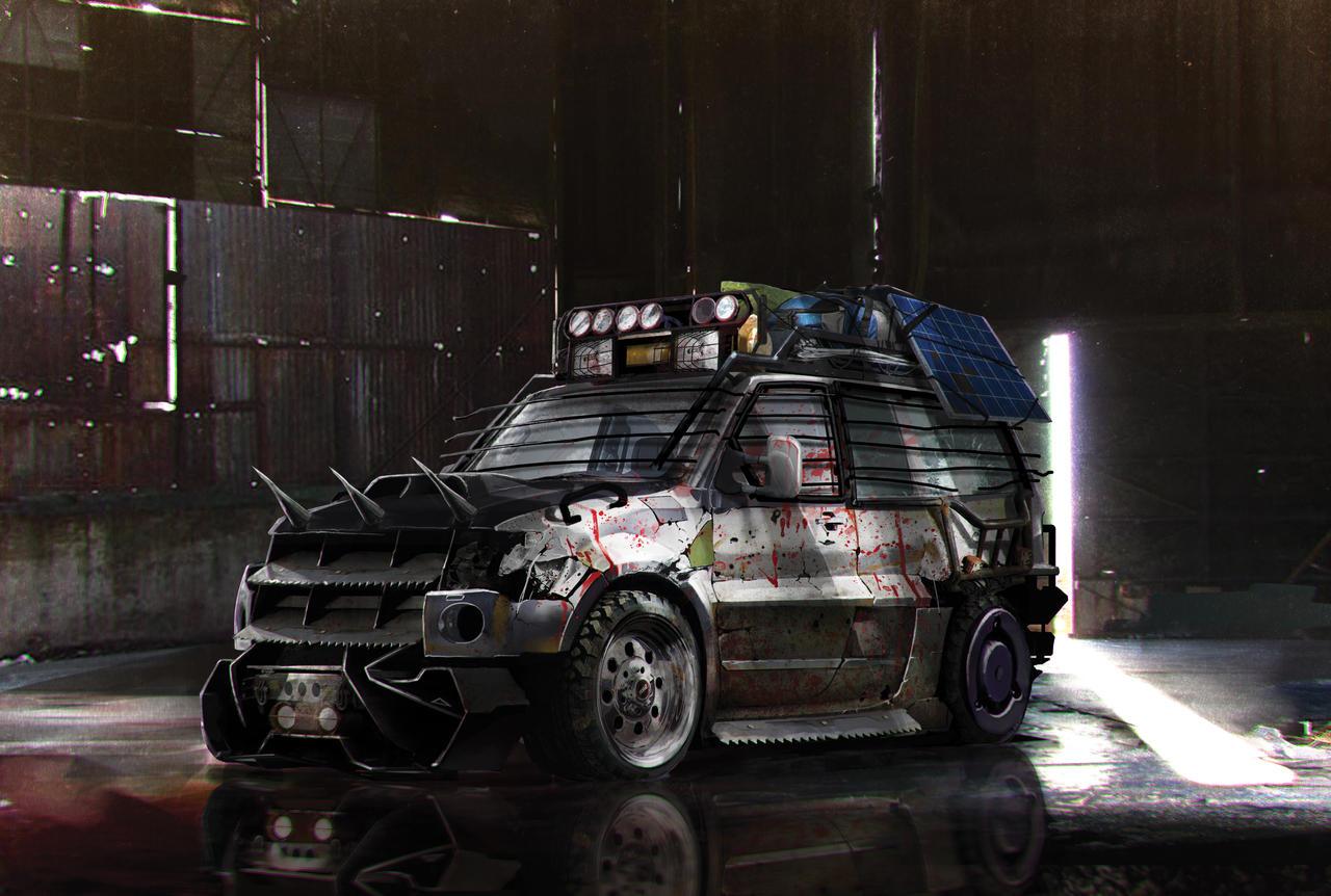 Zombie Race Car Games
