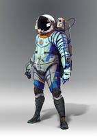 Space suit concept1 by AlexTzutzy