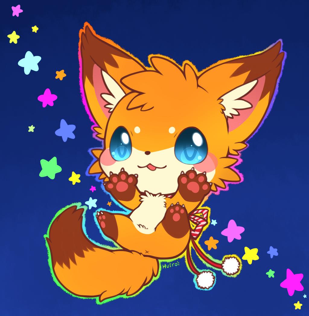 Baby Fox By Huiro On DeviantArt