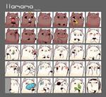 llama icons
