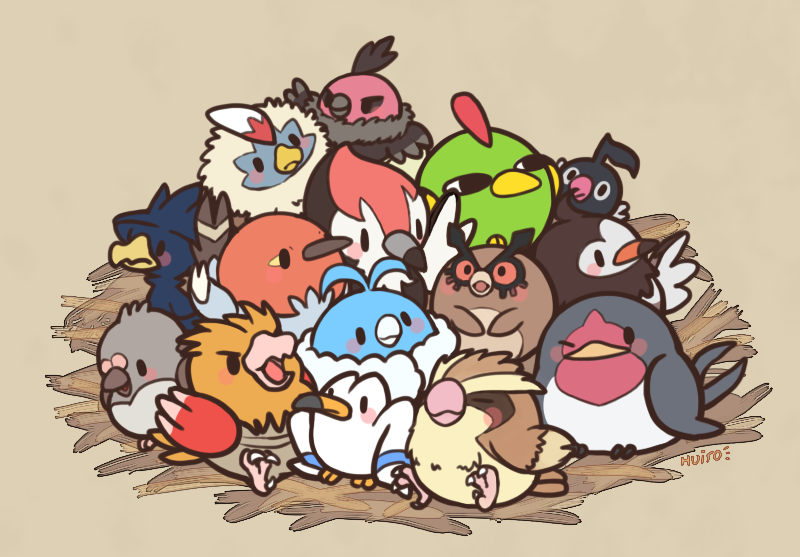 birds by huiro