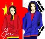 Hetalia: S.Korea and China
