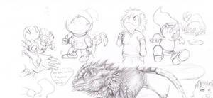 Wyvern doodles