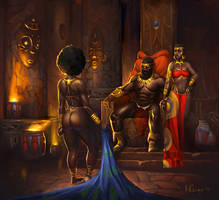 The Concubine. by AlchemistArtworks