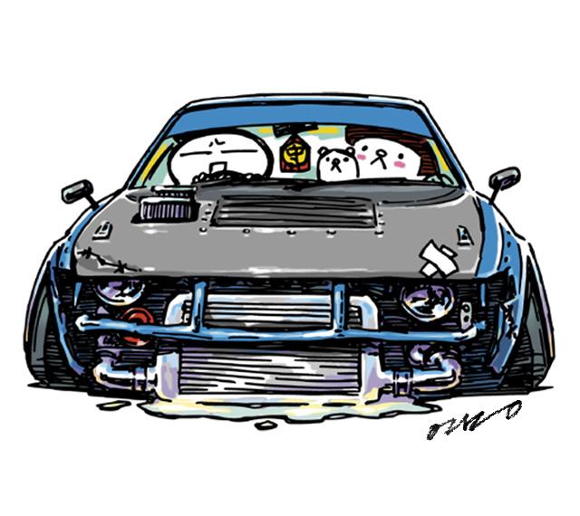 Crazy Car Art By Mame Ozizo On Deviantart