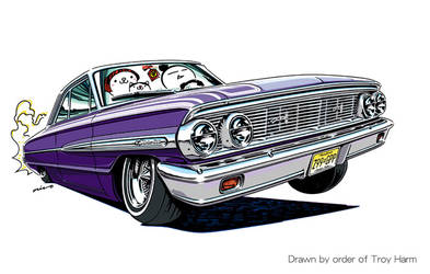 Crazy car art by mame-ozizo
