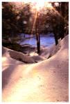 Royalston Falls Sunrise by padawan71