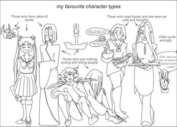 My favourite character types