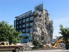 Demolishing health care. by Regenstock