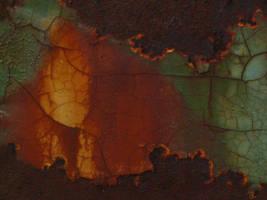 Texture - rust 17. by Regenstock