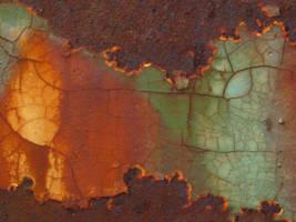 Texture - rust 18. by Regenstock
