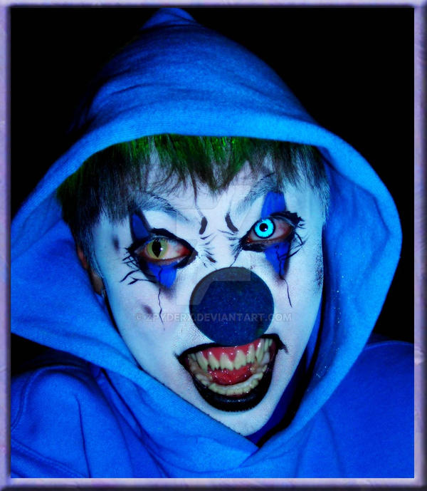Rudolph the Killer Clown by ZpyderX