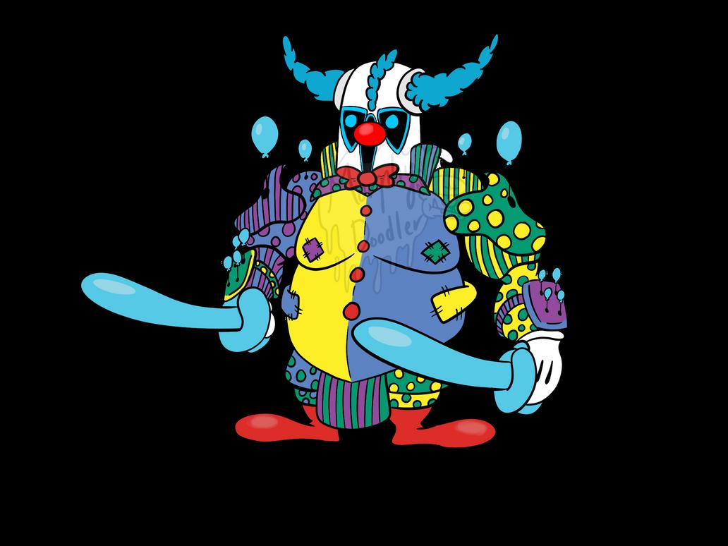 Clown PEKKA by MorphyDoodler