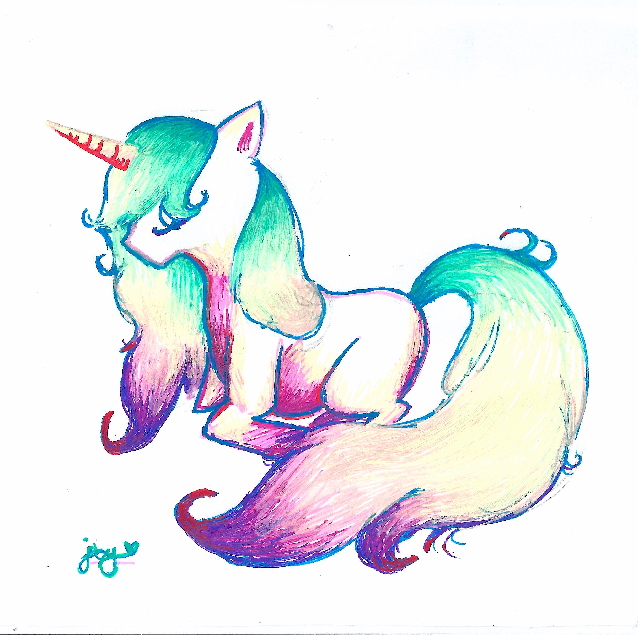 Uncategorized Drawing Of Unicorn unicorn drawing by yunixis on deviantart yunixis