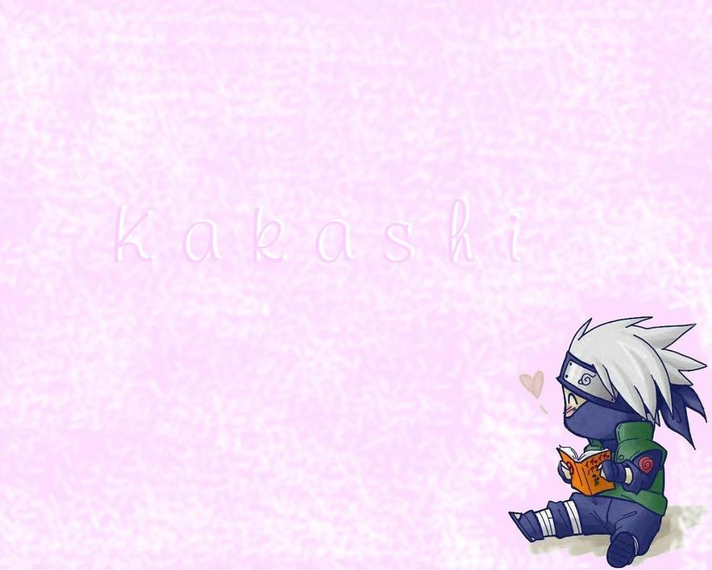 Kakashi in Pink - Wallpaper by Jhordee