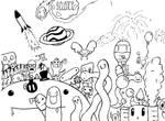 Science Folder Doodle