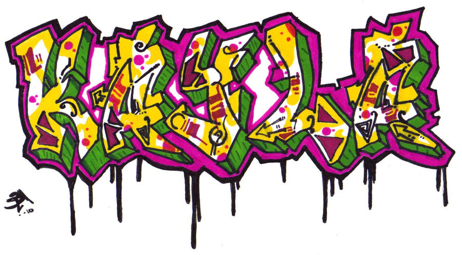 Graffiti Name: Kayla by Cheetahclub84 on DeviantArt