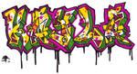 Graffiti Name: Kayla