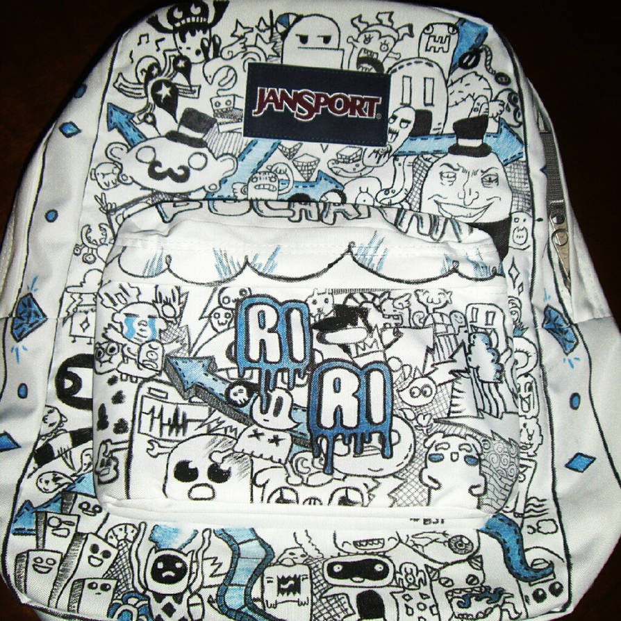 Custom Jansport Backpack for Riley by Cheetahclub84 on