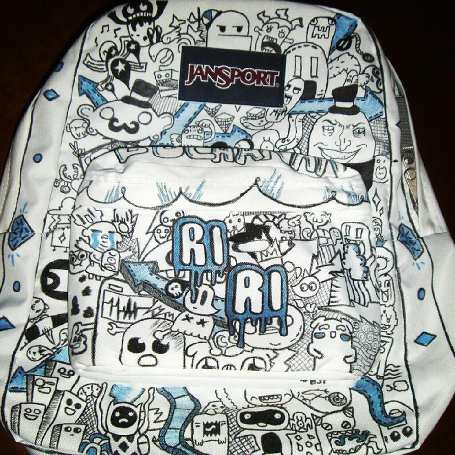 Custom Jansport Backpack for Riley by Cheetahclub84 on DeviantArt