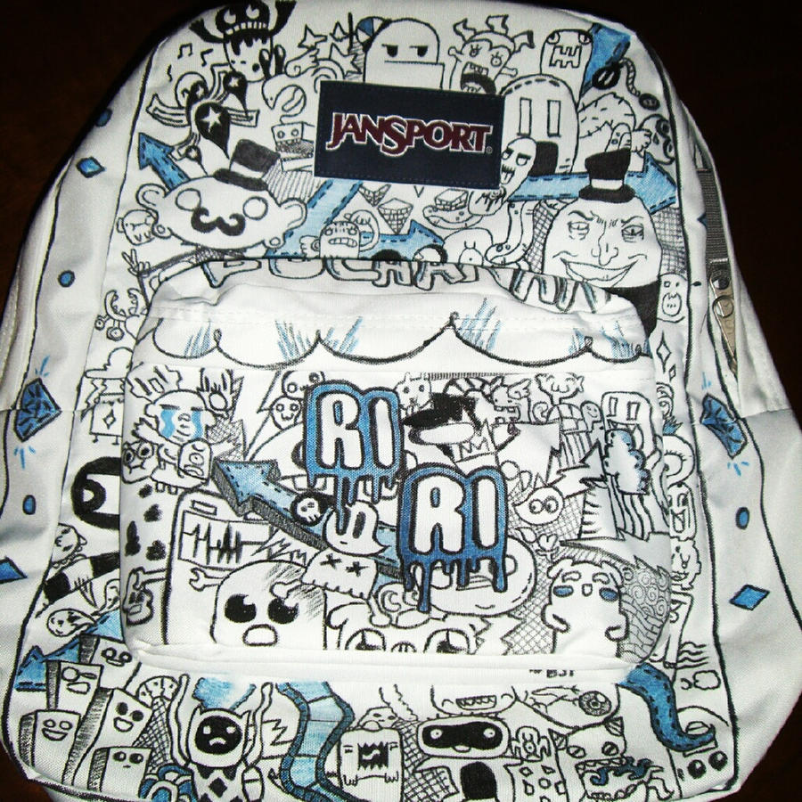 Customize Backpack Jansport - Crazy Backpacks