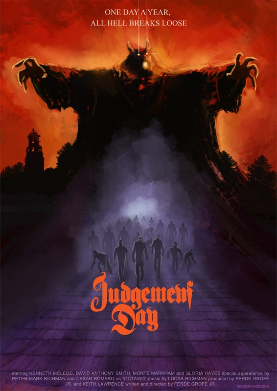 Judgement Day fan poster by ChuckRamos