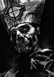Papa Emeritus II - Inktober 2015 day 16 by ChuckRamos