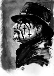 King Diamond - Inktober 2015 day 18 by ChuckRamos