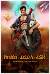 Freddy vs Jason vs Ash