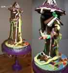 Rapunzel's Gingerbread Tower