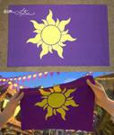 Rapunzel Kingdom Flag Pillowcase