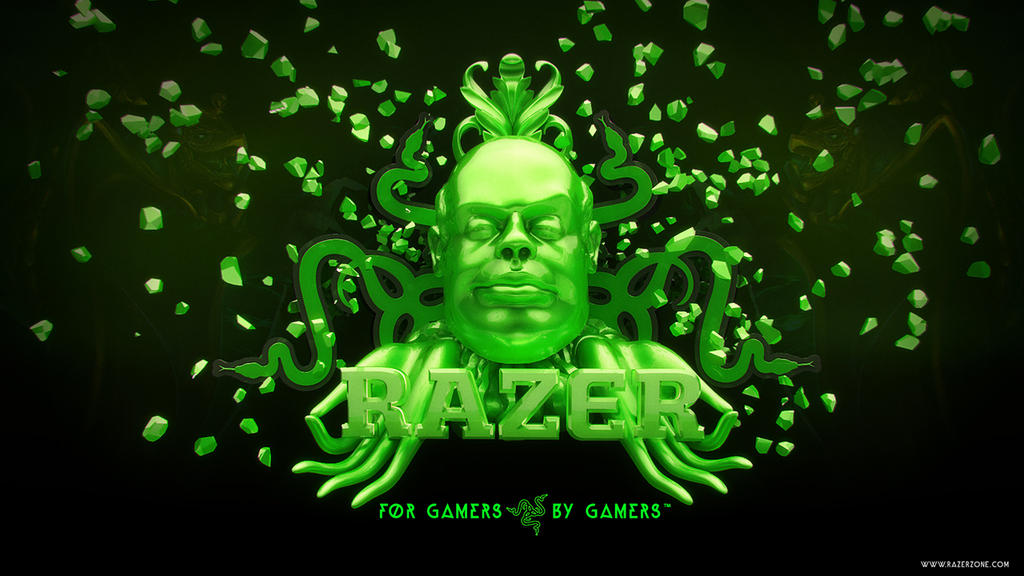 Razer gaming wallpaper by MixMyPhotoshop